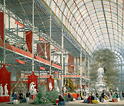 The Great Exhibition of the Works of Industry of all Nations or The Great Exhibition, sometimes referred to as the Crystal Palace Exhibition in reference to the temporary structure in which it was held, was an international exhibition that took place in Hyde Park, London, from 1 May to 15 October 1851