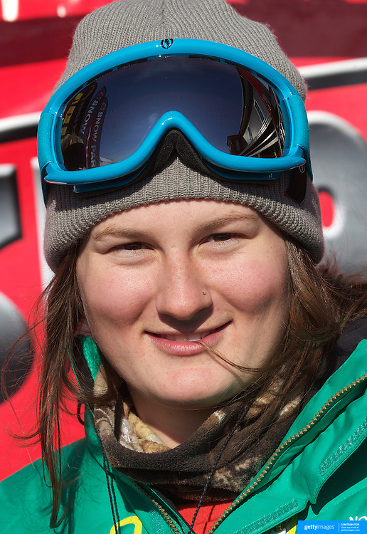 Devin Logan, USA, winner of the Women's Halfpipe Finals during The North Face Freeski Open at Snow Park, Wanaka, New Zealand, 3rd September 2011. Photo Tim Clayton..