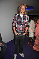 SAM BRANSON at The Ralph Lauren Sony Ericsson WTA Tour Pre-Wimbledon Party hosted by Richard Branson at The Roof Gardens on June 18, 2009