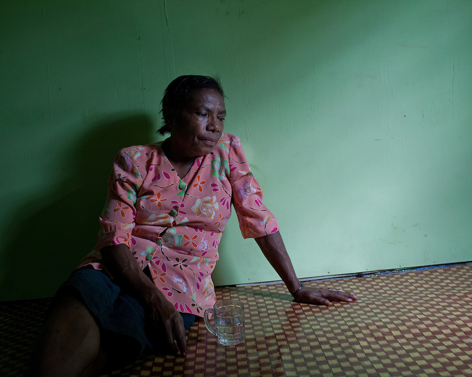 Mama Yuli, HIV-positive mother and activist. <br />