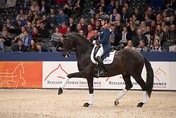 Witte-Vrees Madeleine, NED, Wynton<br /> KWPN Stallionshow - 's Hertogenbosch 2018<br /> © Hippo Foto - Dirk Caremans<br /> 02/02/2018