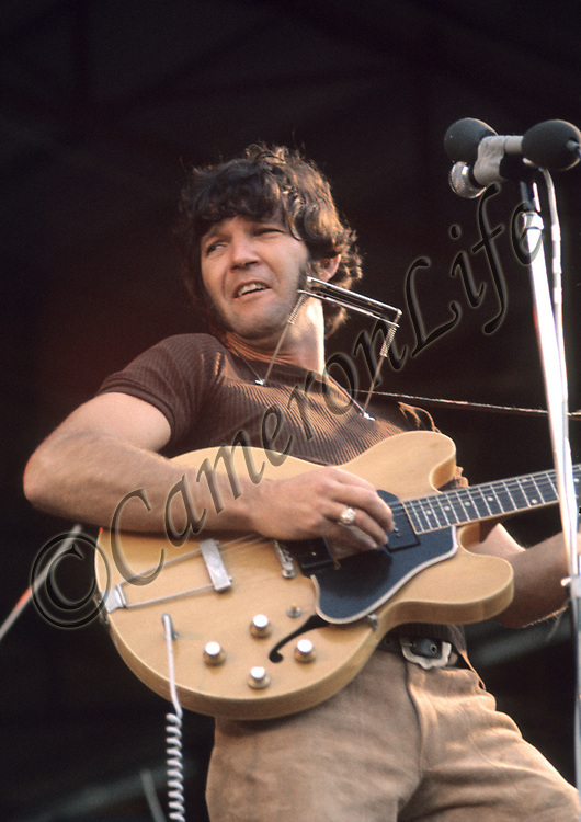 Tony Joe White <br /> -Tony is still touring today and describes his style of music as &quot;Swampy Blues&quot;. He gained solid respect at the festival that evening, as he wooed the audience with his Deep South versions of &quot;Polk Salad Annie&quot; and &quot;Boom Boom Boom&quot;. His only backing was Cozy Powell on drums, whom he borrowed from The Jeff Beck Group.