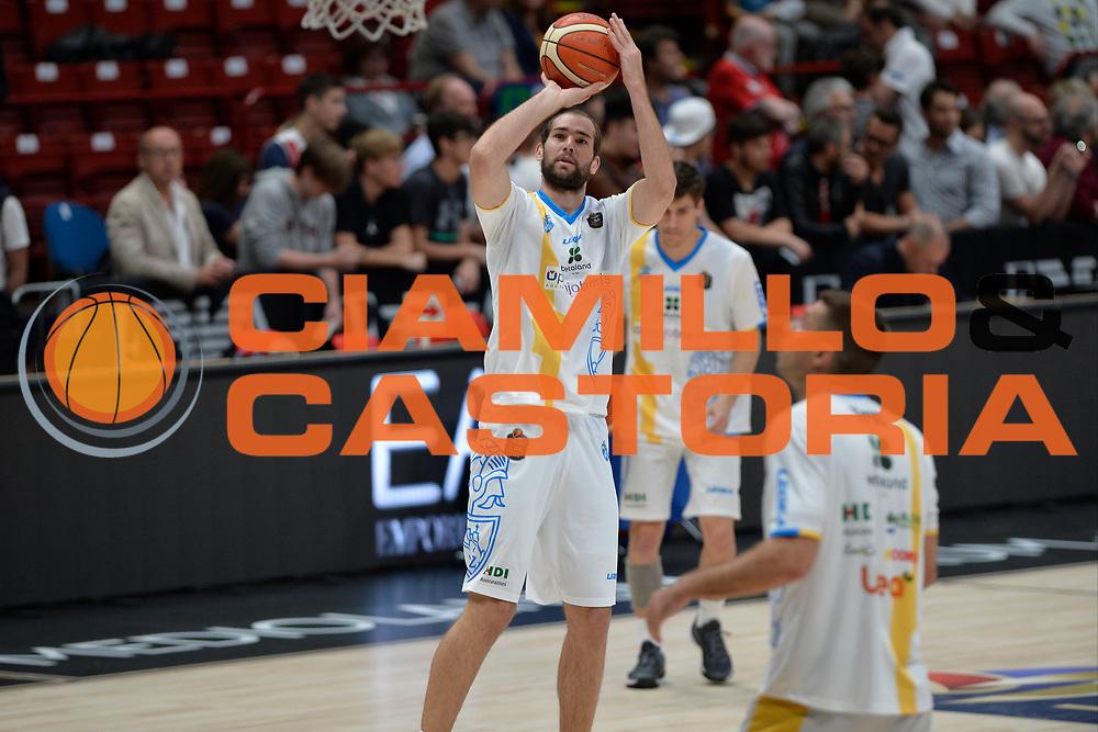 Mario Delas<br /> Olimpia EA7 Emporio Armani Milano vs Vanoli Cremona<br /> Lega Basket Serie A 2016/2017<br /> PlayOff semifinale gara 2<br /> Milano 14/05/2017<br /> Foto Ciamillo-Castoria / I.Mancini