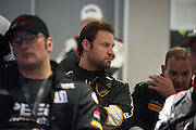 #14 Parris Mullins, GMG Racing, Lamborghini of Beverly Hills during the driver briefing.