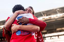 19-11-2017 NED: FC Utrecht - Excelsior, Utrecht<br /> Willem Janssen #14 of FC Utrecht scoort de 3-0, FC Utrecht midfielder Yassin Ayoub #8