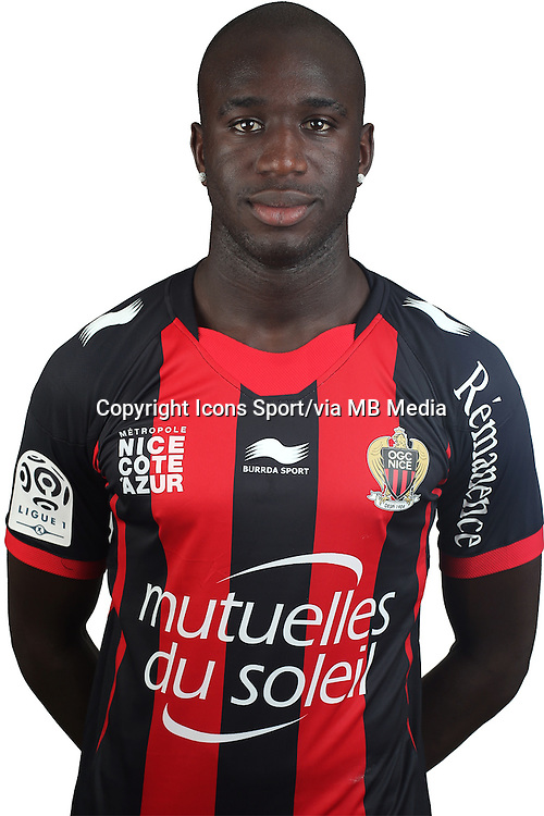 Kevin GOMIS - 02.08.2013 - Photo Officielle - Nice -<br /> Photo : Icon Sport