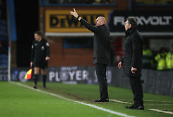 Burnley manager Sean Dyche (L) and Southampton manager Claude Puel - Mandatory by-line: Jack Phillips/JMP - 14/01/2017 - FOOTBALL - Turf Moor - Burnley, England - Burnley v Southampton - Premier League