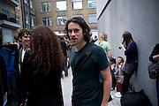 NICK HACKWORTH, Tracey Emin opening. White Cube. Mason's Yard. London. 28 May 2009.