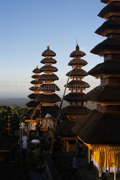 The Pura Besakih Temple on Bali