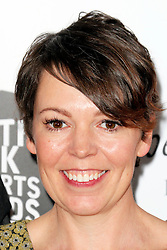 © Licensed to London News Pictures. 27/01/2014, UK. Olivia Colman, The South Bank Sky Arts Awards, Dorchester Hotel, London UK, 27 January 2014, Photo by Richard GoldschmidtJodie