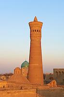 Ouzbekistan, Boukhara, patrimoine mondial de l Unesco,la mosquee Kalon // Uzbekistan, Bukhara, Unesco world heritage, Kalon mosque