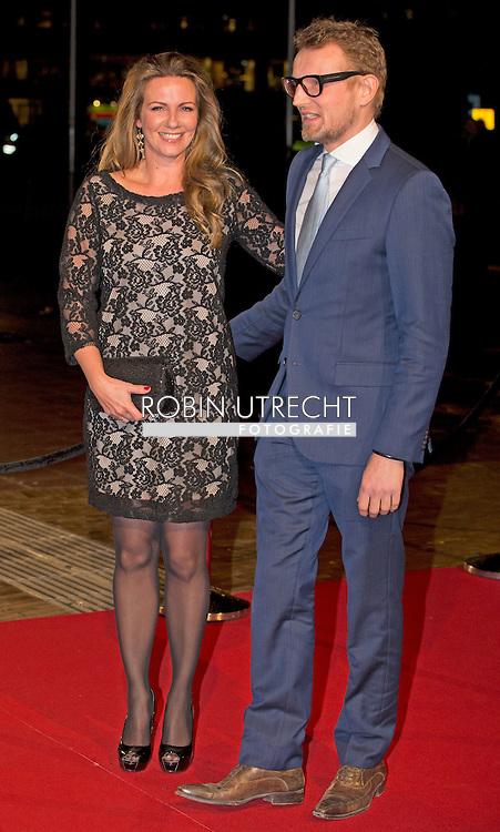 UTRECHT - Prince Bernhard and Princess Annette  arrive in Utrecht , Dutch royal family attend the 75th birthday anniversary of Pieter van Vollenhoven and the 25th jubilee of the Fonds Slachtofferhulp (Victim Fund) in Utrecht. COPYRIGHT ROBIN UTRECHT