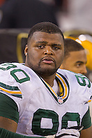 12 January 2013: Defensive tackle (90) B.J. Raji of the Green Bay Packers against the San Francisco 49ers during the second half of the 49ers 45-31 victory over the Packers in an NFL Divisional Playoff Game at Candlestick Park in San Francisco, CA.