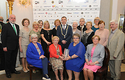 Cuan Modh Centre &amp; St.Dominick&rsquo;s Housing Association, Newport  accecpting their Westport Lions club Clew Bay People of the Year Awards<br />