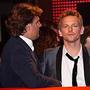 NLD/Amsterdam/20100322 -  Uitreiking Rembrandt Awards 2009, Barry Atsma en Reinout Oerlemans