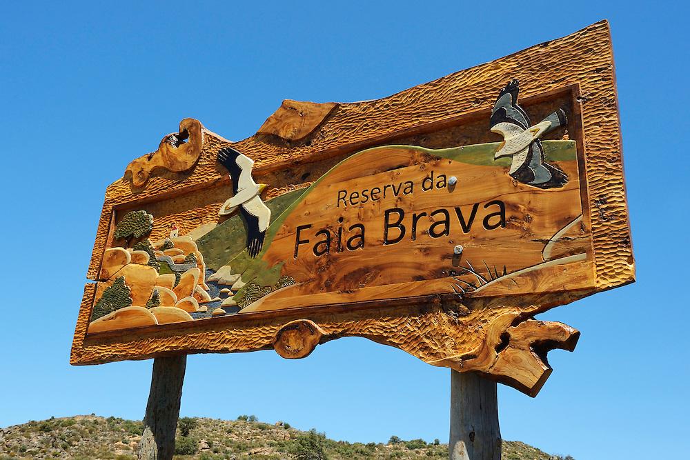 the Faia Brava reserve, in the Western Iberia rewilding area,  Coa valley, Portugal.
