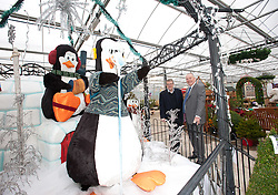 Pictured is Pennells Garden Centre chairman Richard Pennell, left, and Clydesdale and Yorkshire Bank's commercial relationship manager Michael Pickles in the all-weather plant area which is part of the expansion which the bank helped finance.<br /> <br /> Clydesdale and Yorkshire Bank have helped Pennells Garden Centre finance a large expansion at their venue in South Hykeham, near Lincoln.<br /> <br /> Date: December 15, 2015<br /> Picture: Chris Vaughan/Chris Vaughan Photography