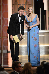 Jan 8, 2017 - Beverly Hills, California, U.S - EDDIE REDMAYNE and JESSICA CHASTAIN at the 74th Annual Golden Globe Awards at the Beverly Hilton in Beverly Hills, CA on Sunday, January 8, 2017. (Credit Image: ? HFPA/ZUMAPRESS.com)