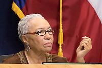 Austin District 1 City Council Member Ora Houston at City Council Meeting