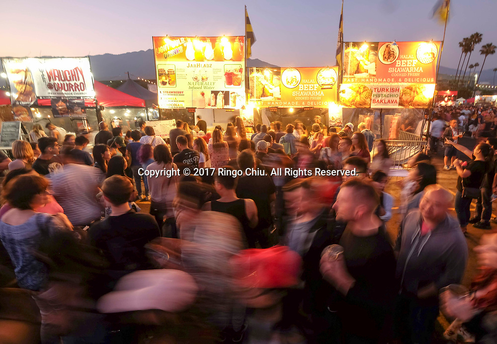 The crowd at the '626 Night Market' on June 30, 2017 in Arcadia, California, an event that attracts all generations of the Chinese American community and showcases many San Gabriel Valley food vendors.(Photo by Ringo Chiu)<br /> <br /> Usage Notes: This content is intended for editorial use only. For other uses, additional clearances may be required.