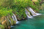 Waterfall, Plitvice Lakes National Park and UNESCO World Heritage cite, Croatia