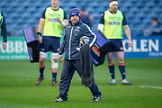 Edinburgh Rugby head coach, Richard Cockerill before the Guinness Pro 14 2018_19 match between Edinburgh Rugby and Ulster Rugby at the BT Murrayfield Stadium, Edinburgh, Scotland on 12 April 2019.