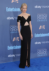Nicole Kidman  bei der Verleihung der 22. Critics' Choice Awards in Los Angeles / 111216