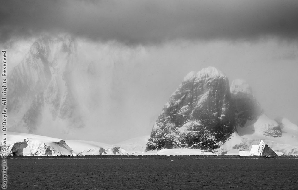 Snow Storm, Bismark Strait, Antarctica