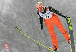 Anna Haefele of  Germany at Ski Jumping ladies Normal Hill Individual of FIS Nordic World Ski Championships Liberec 2008, on February 20, 2009, in Jested, Liberec, Czech Republic. (Photo by Vid Ponikvar / Sportida)