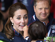 Kate Middleton & Prince William At America Cup Series