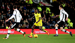 Lloyd Dyer of Burton Albion runs with the ball - Mandatory by-line: Robbie Stephenson/JMP - 21/02/2017 - FOOTBALL - iPro Stadium - Derby, England - Derby County v Burton Albion - Sky Bet Championship