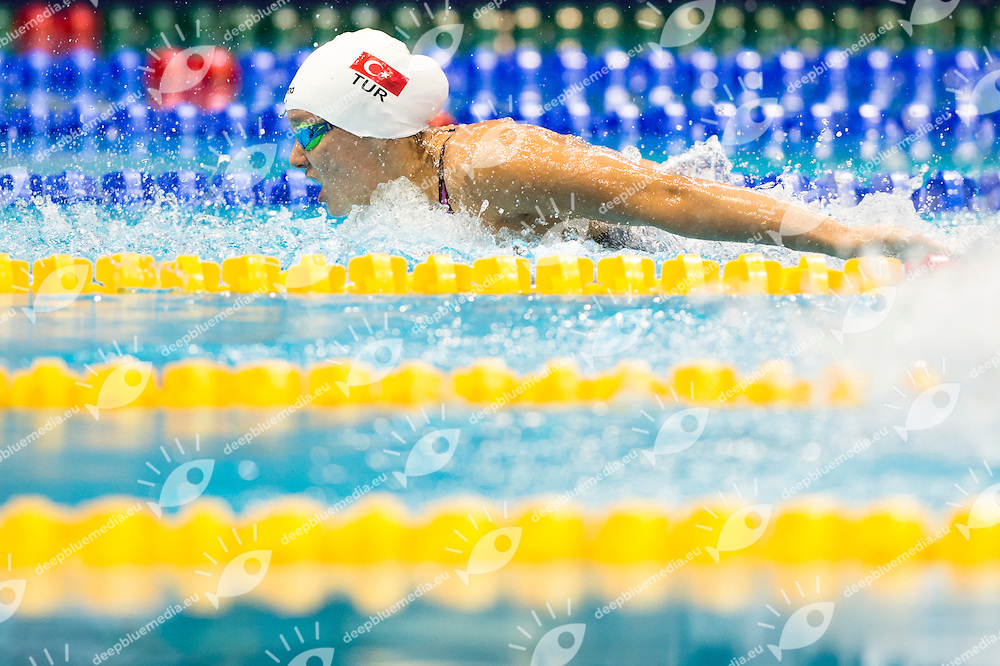 GUNES Viktoria Zeynep TUR<br /> 100m Backstroke Men Heats<br /> Netanya, Israel, Wingate Institute<br /> LEN European Short Course Swimming Championships Dec. 2 - 6, 2015 Day02 Dec.03<br /> Nuoto Campionati Europei di nuoto in vasca corta<br /> Photo Giorgio Scala/Deepbluemedia/Insidefoto