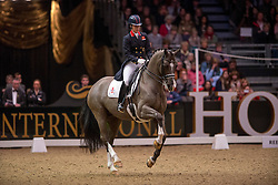 Dujardin Charlotte (GBR) - Valegro<br /> Kur - Reem Acra FEI World Cup Dressage Qualifier - The London International Horse Show Olympia - London 2012<br /> © Hippo Foto - Jon Stroud