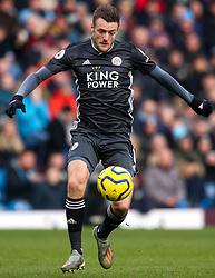 Jamie Vardy of Leicester City - Mandatory by-line: Robbie Stephenson/JMP - 19/01/2020 - FOOTBALL - Turf Moor - Burnley, England - Burnley v Leicester City - Premier League