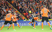Greg Stewart curls a shot into the top corner for Dundee's first goal - Dundee United v Dundee at Tannadice<br /> - Ladbrokes Premiership<br /> <br />  - &copy; David Young - www.davidyoungphoto.co.uk - email: davidyoungphoto@gmail.com