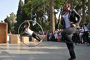 Badr ElAuaz, Amin Aiach. Ecole Nationale de Cirque Shems'y du Maroc