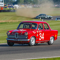 1959 Alfa Romeo Giulietta Ti driven by Geoff Gordon/ Richard Meadon in the St. Mary's Trophy at Goodwood Revival 2019