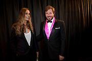 YASMINE LEBON; SIMON LEBON, GQ Man of the Year awards. The royal Opera House. Covent Garden. London. 6 September 2011. <br /> <br />  , -DO NOT ARCHIVE-© Copyright Photograph by Dafydd Jones. 248 Clapham Rd. London SW9 0PZ. Tel 0207 820 0771. www.dafjones.com.