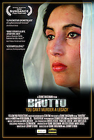 Anwar Hussein photo of Bhutto for poster of film on her life.