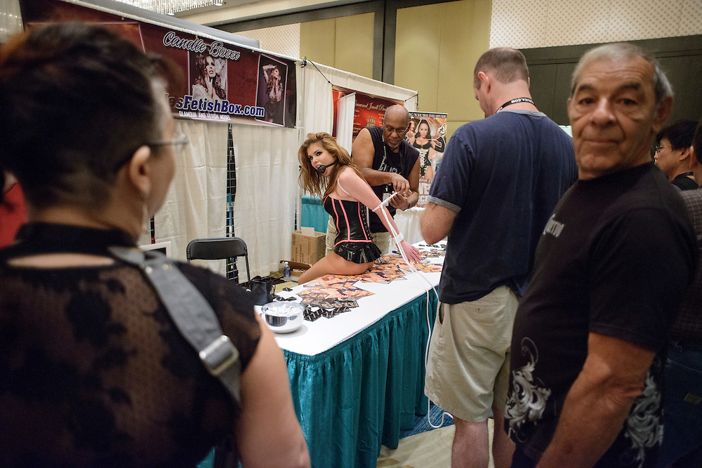 photo by Matt Roth..during the 2012 Fetish Con at the Hyatt Regency in Tampa, Florida Friday, August 3, 2012.