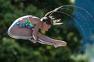 DALLAPE' Francesca ITA<br /> Bolzano, Italy <br /> 22nd FINA Diving Grand Prix 2016 Trofeo Unipol<br /> Diving<br /> Women's 3m springboard preliminaries <br /> Day 02 16-07-2016<br /> Photo Giorgio Perottino/Deepbluemedia/Insidefoto