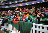 Cricket - 2019 ICC Cricket World Cup - Group Stage: Bangladesh vs. New Zealand<br /> <br /> Bangladesh supporters cheer on their team, at Kia Oval.<br /> <br /> COLORSPORT/ANDREW COWIE