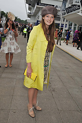 AMBROSIA HICKS at the 2012 Investec sponsored Derby at Epsom Racecourse, Epsom, Surrey on 2nd June 2012.