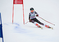 Gus Pitou giant slalom race at Gunstock - U10, U12, U14.  Karen Bobotas Photographer