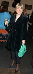 ROSEMARY, MARCHIONESS OF NORTHAMPTON at a private view of paintings by Rosita Marlborough (The Duchess of Marlborough) held at Hamiltons gallery, Carlos Place, London W1 on 9th November 2005.<br /> <br /> NON EXCLUSIVE - WORLD RIGHTS