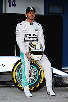 Lewis Hamilton (GBR) Mercedes AMG F1 W06.<br /> Formula One Testing, Day One, Sunday 1st February 2015. Jerez, Spain.