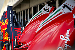 July 19, 2018 - Hockenheim, Germany - Motorsports: FIA Formula One World Championship 2018, Grand Prix of Germany, ..Technical detail  (Credit Image: © Hoch Zwei via ZUMA Wire)
