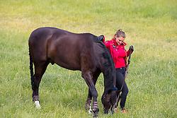Piotrowski Juliette, (GER), Sir Diamond<br /> European Dressage Championships U25 - Hagen 2016<br /> © Hippo Foto - Leanjo de Koster<br /> 16/06/16