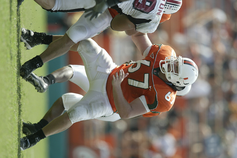 2003 Miami Hurricanes Football vs Temple
