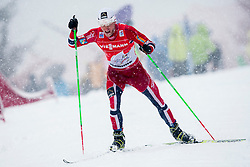 Martin Johnrsud Sundby of Norway during Mans 9km Classic (Final climb) mass start of the Tour de Ski 2014 of the FIS cross country World cup on January 5th, 2014 in Cross Country Centre Lago di Tesero, Val di Fiemme, Italy. (Photo by Urban Urbanc / Sportida)